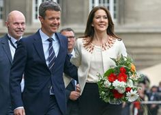 rown Prince Frederik and Crown Princess Mary of Denmark arrives at the city hall of Hamburg, Germany, 19 May 2015. (The Danish royal couple is in Germany on a working visit entitled 'Danish Living' until May 21, 2015)