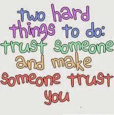 TRUST IS LIKE LOYALTY