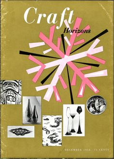 Craft Horizons magazine November/December 1954 (Volume 14, Number 6)