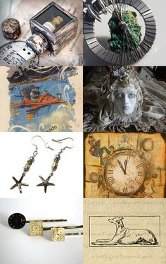 STEAM team - Exotic Goods By Julie Bean from BluePigDesigns on Etsy #etsy #art #treasury