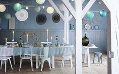 Inspirations déco, bleu pastel : Lovely Market, les trouvailles de Constance