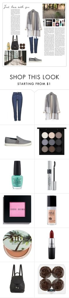 """""""Just here with you"""" by silly-stegosaurus ❤ liked on Polyvore featuring Topshop, Vince, AMANTES AMENTES, MAC Cosmetics, OPI, Christian Dior, Bobbi Brown Cosmetics, MAKE UP FOR EVER, Urban Decay and rag & bone"""