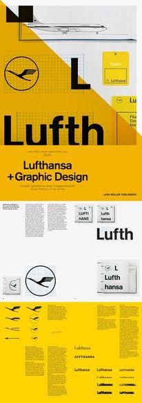 lufthansa graphic design — Designspiration