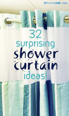 32 {Surprising} Shower Curtain Ideas!