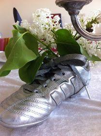 Fru Hansens kreativiteter: Pynting av konfirmasjonsbord :) Deco, Shoes, Zapatos, Shoes Outlet, Decor, Shoe, Deko, Decorating, Footwear