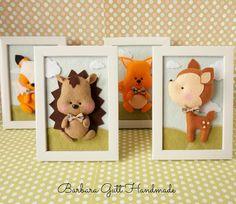 Barbara Handmade...: Leśne zwierzaki / Forest animals