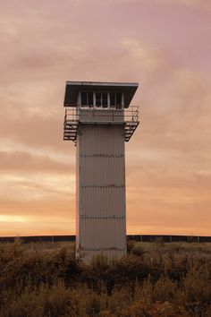 I was playing in Photoshop with this picture I took of one of the guard towers at the old Lorton prison.