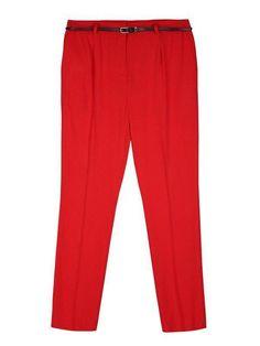 Top Secret Kalhoty dámské červené společenské s páskem Top Secret, Pajama Pants, Pajamas, Fashion, Pjs, Moda, Sleep Pants, Fashion Styles, Pajama