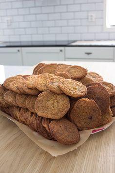 American Cookies - Sweet Food O´Mine No Bake Cookies, Baking Cookies, American Cookie, Sweet Recipes, Bread, Food, Brot, Essen, Baking