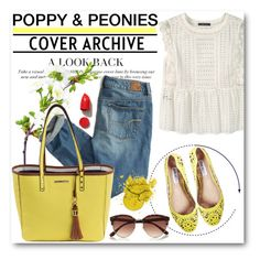 """Poppy & Peonies 18"" by fashionmonsters ❤ liked on Polyvore featuring Violeta by Mango, American Eagle Outfitters, Steve Madden, River Island and NARS Cosmetics"