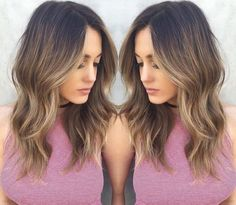 Not so subtle balayage that puts your dimensional color in the spotlight. This look may have you swearing off haircuts. Visit TerrificTresses.com for color inspiration you will want to take to your colorist.