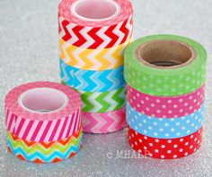 Great Parties - Washi Paper Tape from Mary Had a Little Party. $3.00, via Etsy.