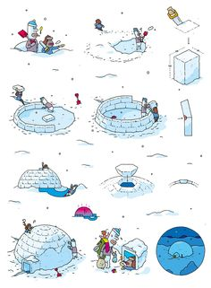 Tommi Musturi, Building an igloo