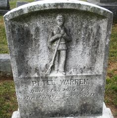 Peter Warren was born and died in Gettysburg, PA.  He served as an infantry soldier for the Union during the Civil War.000