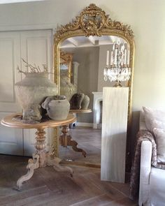 "Inge van Amerongen on Instagram: ""Castle mirrors @therobin.nl…"" Oversized Mirror, Antique Mirrors, Castle, Van, Antiques, Furniture, Instagram, Home Decor, Mirrors"