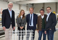 LH-Stellvertreter zu Besuch bei Rapperstorfer Automation Suit Jacket, Breast, Suits, Jackets, Fashion, Wels, Down Jackets, Outfits, Moda