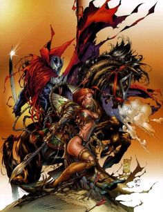 witchblade | Medieval Spawn Witchblade