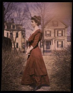 autochrome from the George Eastman House circa 1910-1920