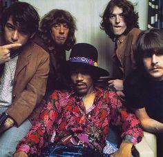 Jimmy Hendrix with Eric Burdon and War