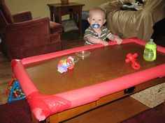 baby proofing coffee table arts and crafts Pinterest Babies