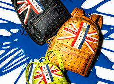 MCM London Olympics Backpack Collection | Highsnobiety.com - coolest backpack ever.