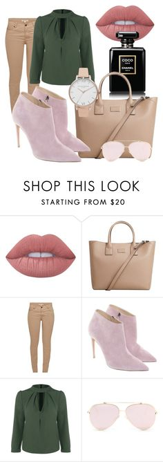 """spring to come"" by sabiheja on Polyvore featuring Lime Crime, MANGO, Barbour, Ralph Lauren and Olivia Burton"
