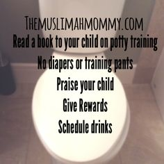 Potty Training Tips For Your Toddler - The Muslimah Mommy Potty Training Books, Training Pants, Parenting Advice, Your Child, Books To Read, Children, Toilet, Concept, Reading