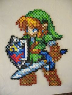 Awesome link fuse bead creation!