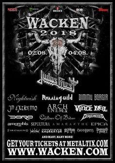 Ya tenemso el que seguro será un de los cabezas de cartel el verano que viene en los festivales más importantes de Europa. Judas Priest La organización del festival Wacken Open Air ha confirmado una nueva tanda de bandas para su próxima edición que incluye a JUDAS PRIEST. Además estarán en el...