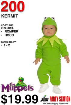 COSTUME INCLUDES: • BUNTING • HEADPIECE ACCESSORIZE WITH: • MAKE-UP #MUPPETS #MUPPETSHOW #KERMIT #HALLOWEEN #COSTUME #BOYSCOSTUME WE LIKE TO #PARTY SO MUCH ITS IN OUR NAME #FRISCOPARTYSTATION . CAPTURE THE #SPIRIT OF #HALLOWEEN THIS YEAR BY SHOPPING WITH US HERE IN THE #CITY OF #FRISCO SERVING #PLANO #MCKINNEY #ALLEN #PROSPER #LITTLEELM #THECOLONY #LEWISVILLE