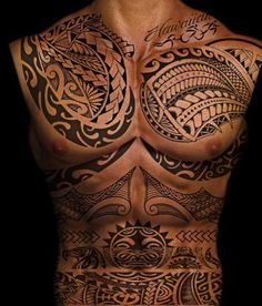 Polynesian Tattoo Designs for Men and Women28