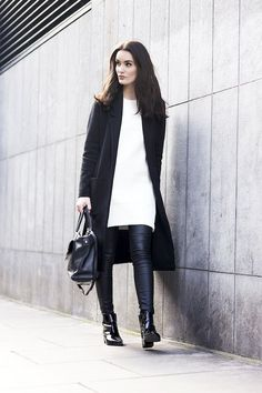 A Blogger's Way To Look Chic In Black And White