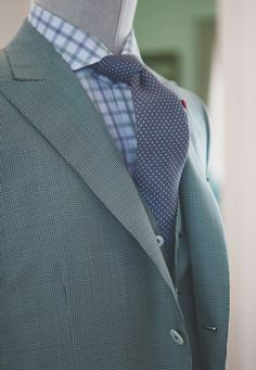 downeastandout:    Amazing lapel roll and combination.