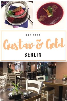Berlin Restaurant Recommendation: Seasonal and Regional Dishes at Gustav & Gold