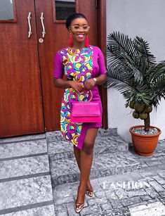 Here are 20 Pictures of Elegant and Simple Ankara Styles any OK tailor can sew. More Photos from our collection of Simple Ankara Designs […] African Wear Dresses, African Fashion Ankara, Latest African Fashion Dresses, African Print Fashion, African Attire, African Prints, Native Fashion, African Outfits, Fashion Prints