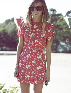 Emma Elwin - summerdress from TopShop