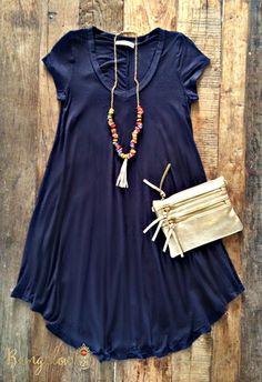 Ambrose Dress – Bungalow 123 The weekend outing wear :) #Casual #Comfy #WeekendWear