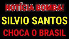 NOTÍCIA BOMBÁSTICA! Apresentador Silvio Santos CHOCA o Brasil