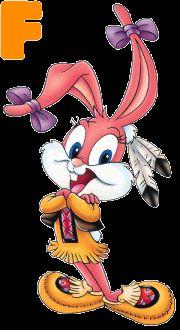 Alfabeto de Babs Bunny.