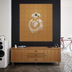 Star Wars wanddecoratie Ixxi icon BB-8 groot | Musthaves verzendt gratis