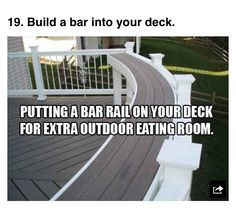 Perfect for our top deck!