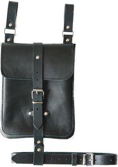 8aadf1d858c Dij tas gotische tas. Dij Holster zakjes bag schouder | Etsy Natuurlijk  Leer, Heuptasje
