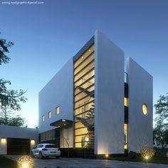 Kowalewski Residence by Sonny Ferian | Architecture | 3D | CGSociety