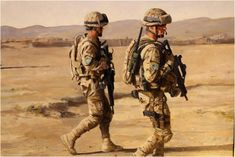 Soldados españoles de patrulla en Afganistan en el 2012. Augusto Ferrer-Dalmau. Más en www.elgrancapitan.org/foro