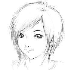 como dibujar un anime