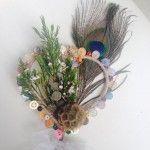 Longlevens Flowers - April 2015 - flower wand Wedding Flower Design, Wedding Flowers, Funeral Bouquet, Christmas Door Wreaths, Spring 2015, Grapevine Wreath, Grape Vines, Flower Designs, Wands