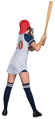 A sporty costume is a fun, sexy, body-baring celebration of your love of all things athletic and is the perfect way to show your athleticism. If you are just an enthusiastic supporter, calling the shots from the sidelines or actually making them, dressing for flirtatious, athletic fun is very sexy and is going to get any red-blooded man's attention.