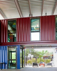 The Container Bar in Austin Texas, designed by North Arrow Studio and Hendley | Knowles Design Studio