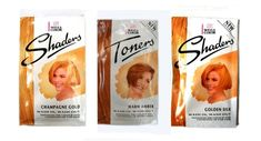 Shaders and Toners - wash in, wash out hair colours