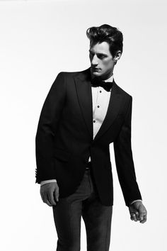 classic tuxes with bow ties